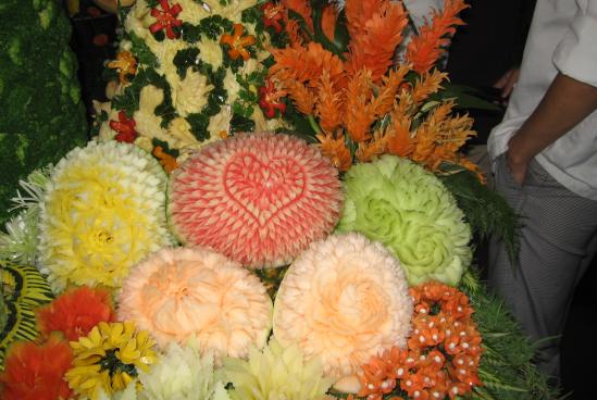 2008年タイ カービングコンテスト