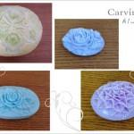 ブルー系の色の石鹸
