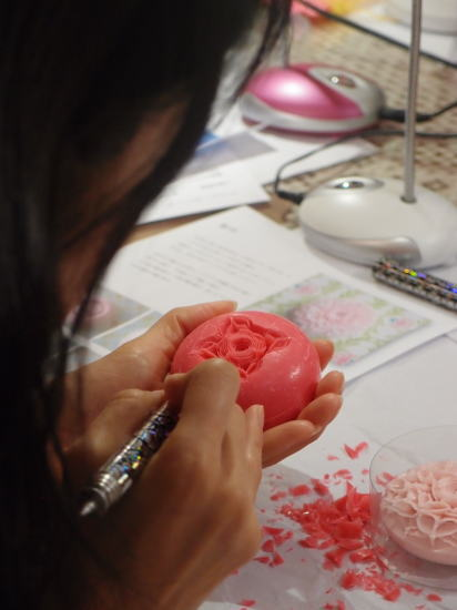 soap carving