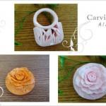 初薔薇と石鹸のBAG