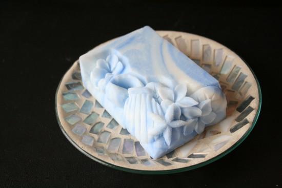 青さらし石鹸
