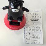 日本赤十字に募金しました