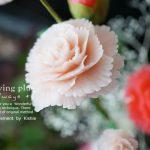 切り出しのお花とレリーフ彫りのお花の違い
