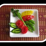 1月イベントレッスン 簡単な野菜のカービング