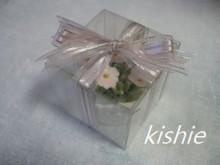 カービング☆☆ 生活に彩りを-小花ケース