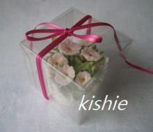 カービング☆☆ 生活に彩りを-小花ケースリボン